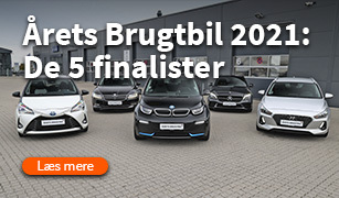 Årets brugt bil 2021 vinder